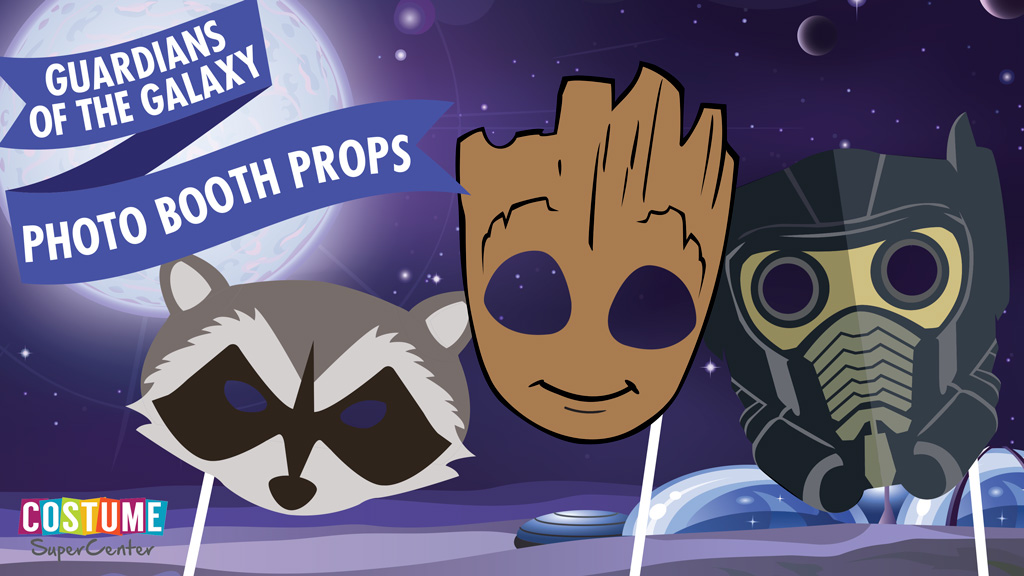 Free Printable Guardians of the Galaxy Masks