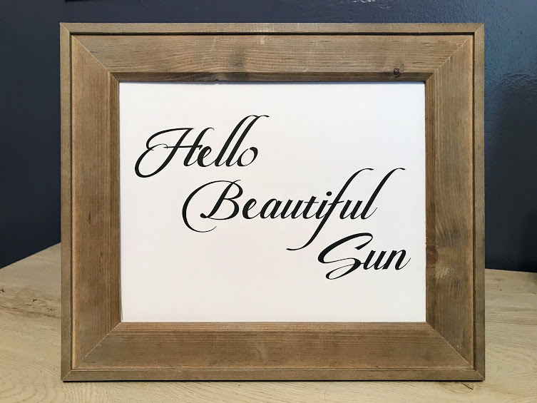 free Farmhouse Beautiful Sun Sign