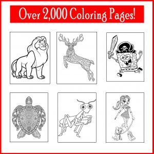 Coloring archives printables 4 mom Coloring book mockup