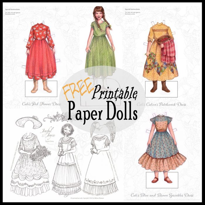 Printable Paper Dolls To Color And Play Printables 4 Mom
