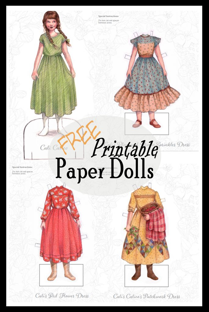 free printable paper dolls to color and play with