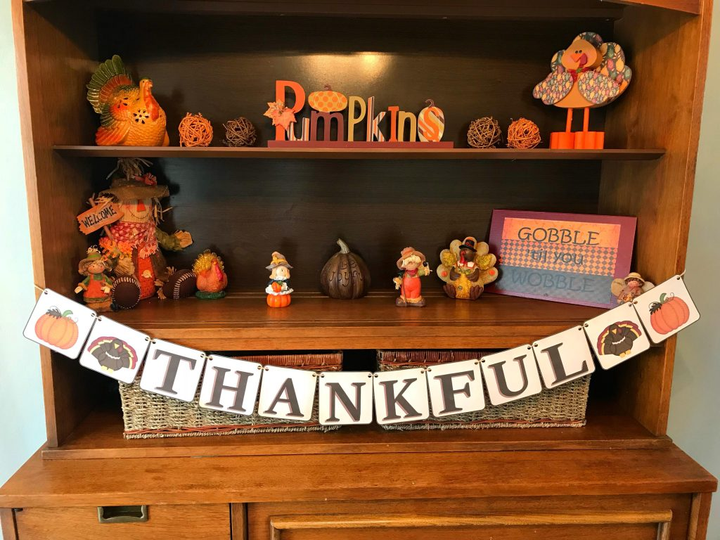 6 Free Thanksgiving and Fall Banners Thankful Free Printable