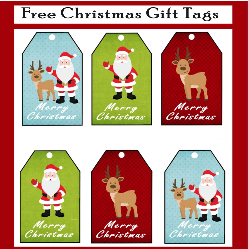 photograph about Free Printable Santa Gift Tags titled Cost-free Printable Xmas Present Tags - Printables 4 Mother