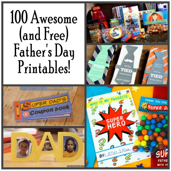 100 Awesome Father S Day Printables Printables 4 Mom