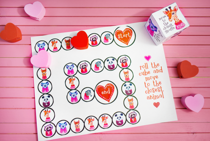 Printable Valentine's Day Game Free Download. Great gift idea too!