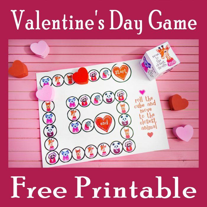 Printable Valentine's Day Game