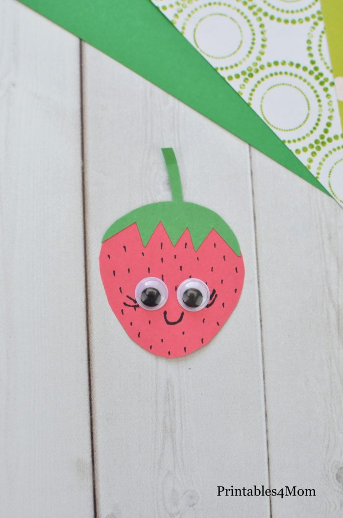 Mother's Day Sweet Fruit Basket Craft