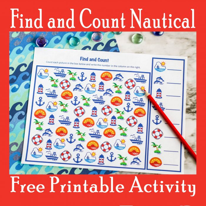 Find and Count Nautical Activity