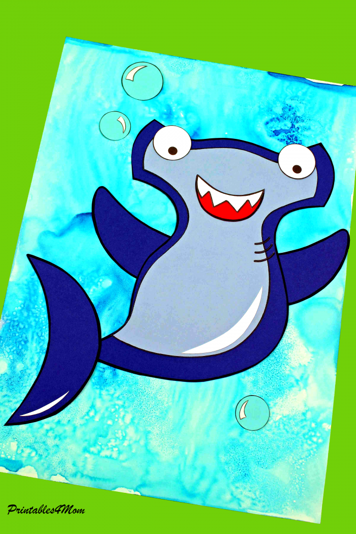 Hammerhead Printable Sea Craft Free printable