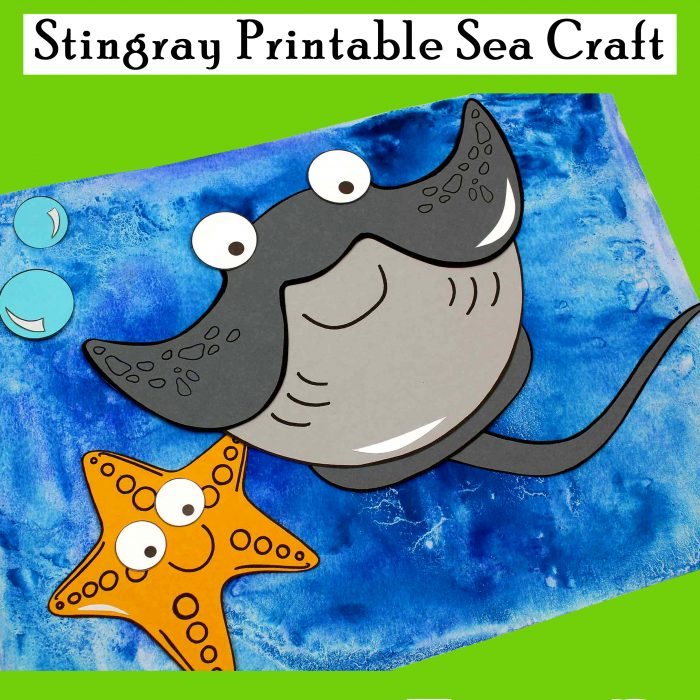 Stingray Printable Sea Craft