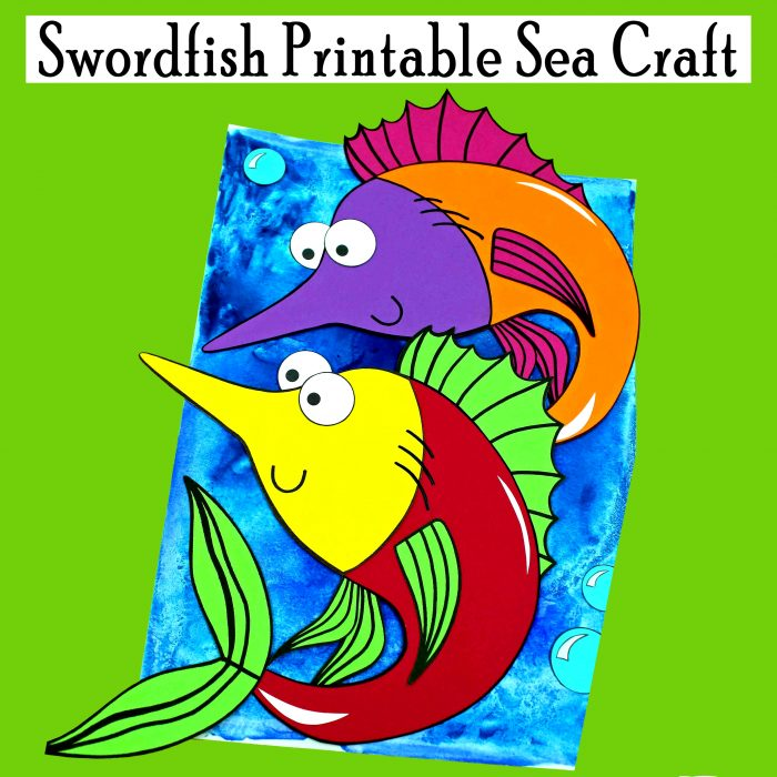 Swordfish Printable Sea Craft