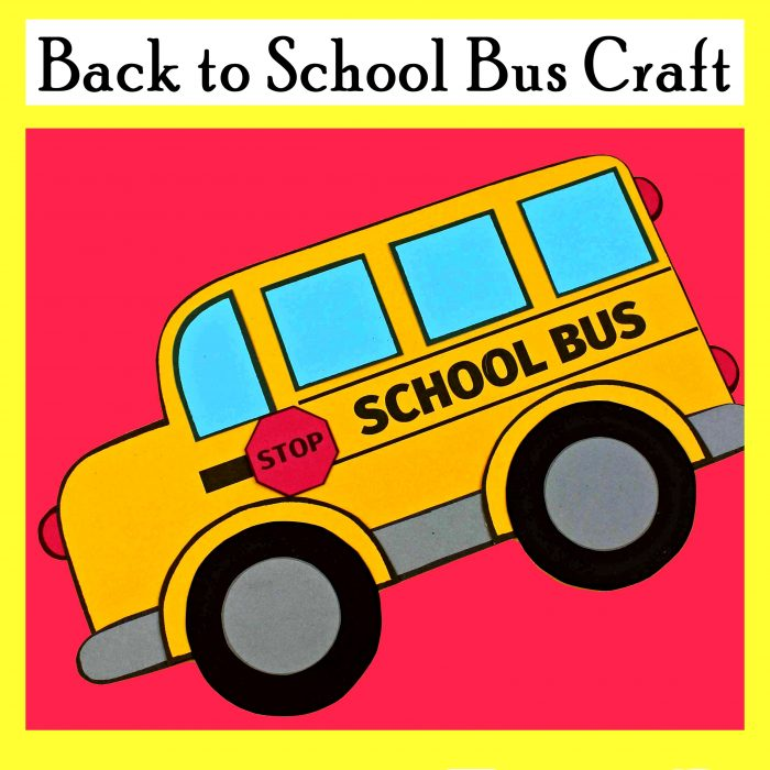 Back 2 School Bus Craft