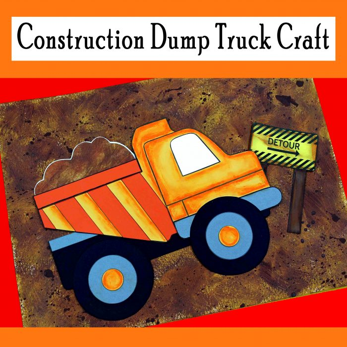 Construction Dump Truck Craft