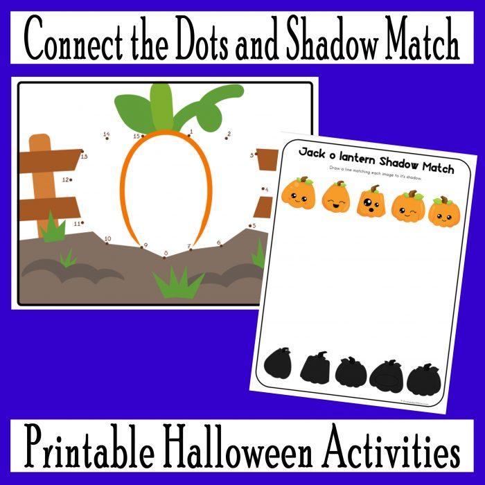 Jack O' Lantern Halloween Fun Pack Free Printable Activities