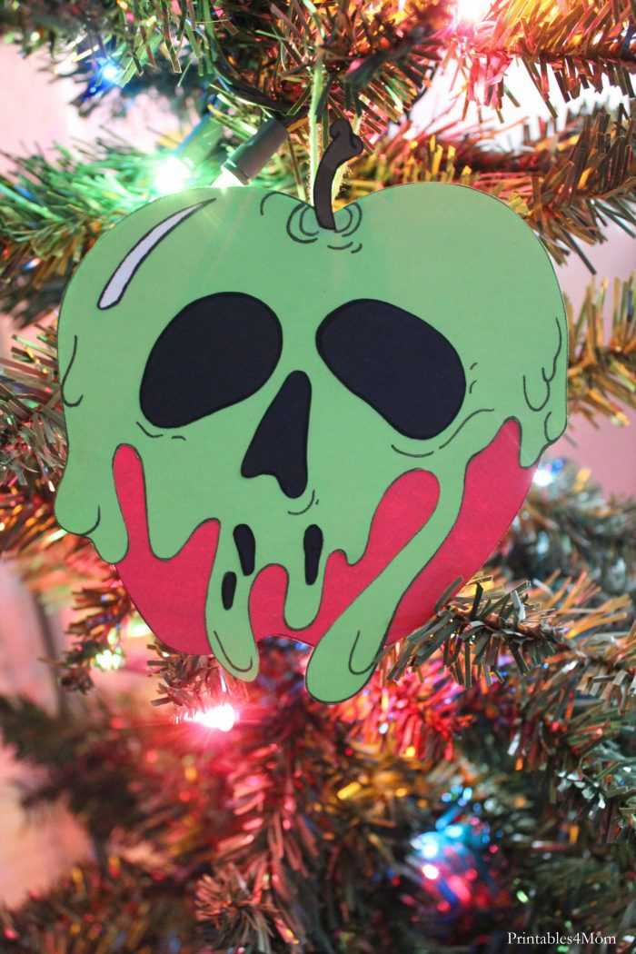 Poison Apple Ornament Craft Christmas Craft