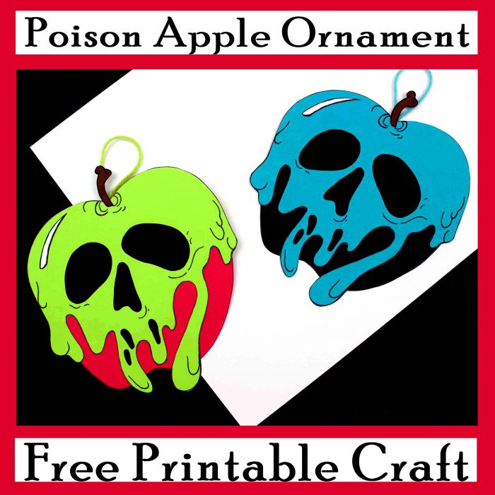 Poison Apple Ornament Craft