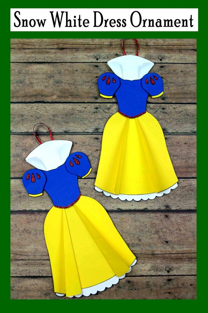 Disney Snow White Dress Ornament