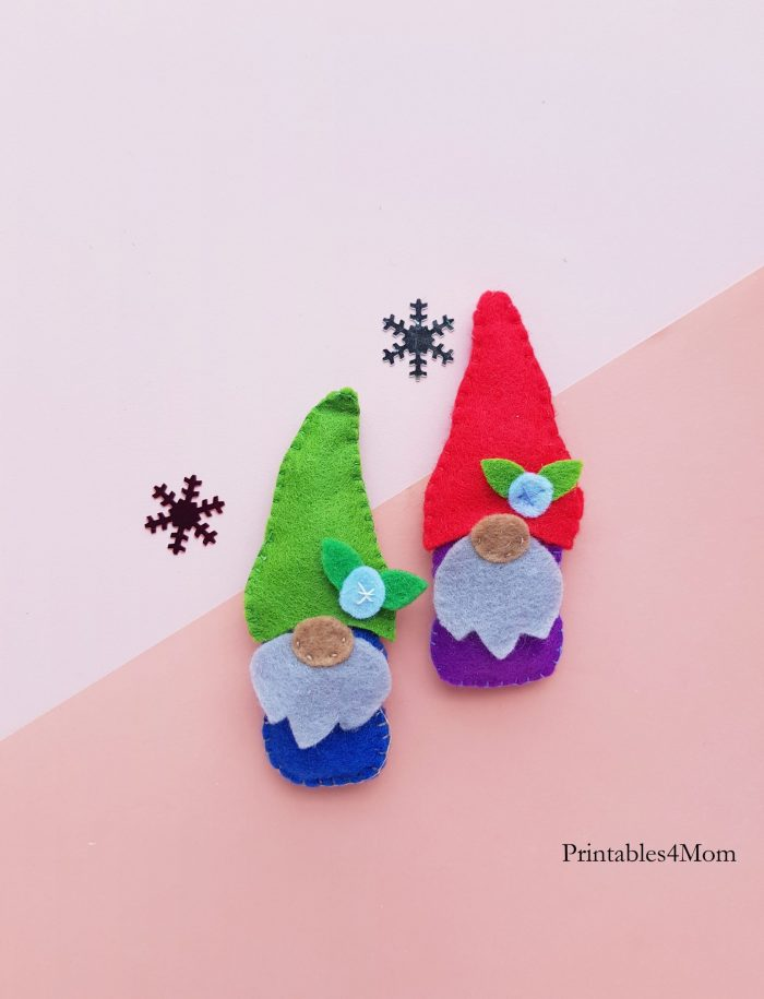 DIY Christmas Felt Gnome Craft