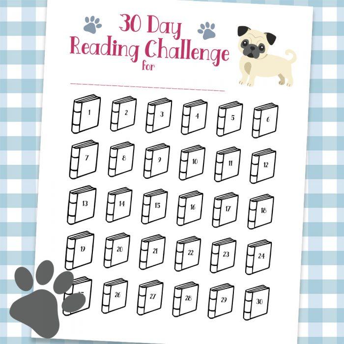 30 Day Reading Challenge Printable Free Printable