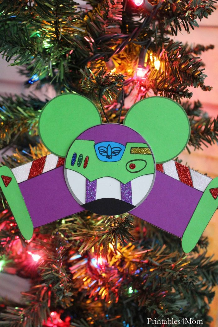 Buzz Toy Story Christmas Ornament Printable