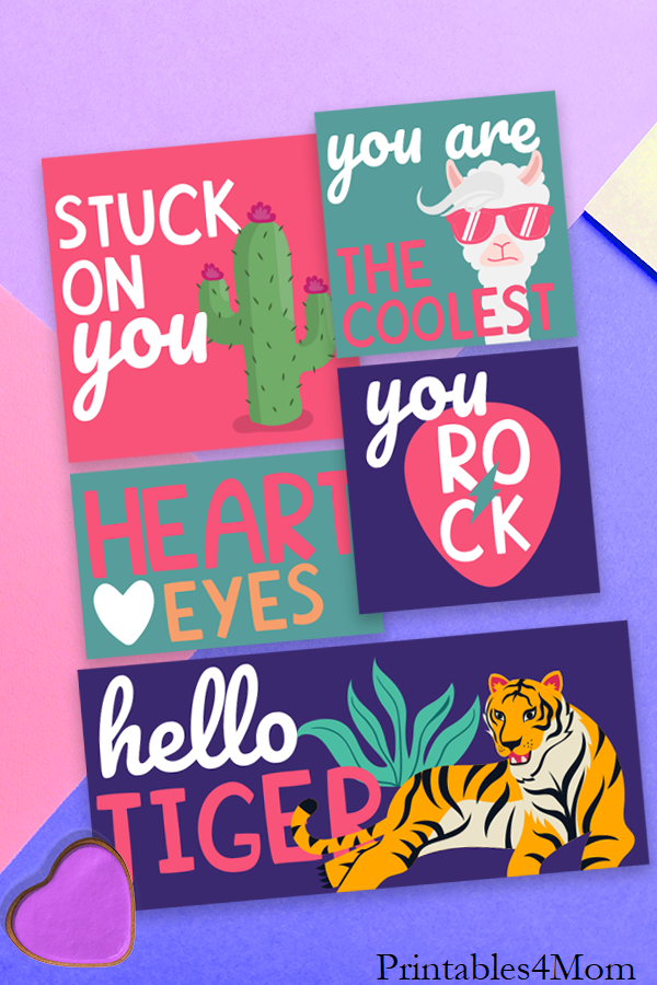 90s Valentine's Day Cards DIY