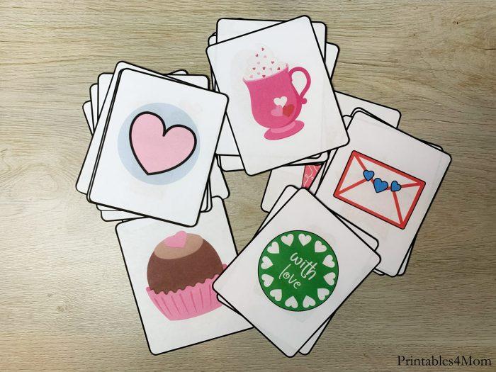 Valentine's Day Printable Bingo Game Printable