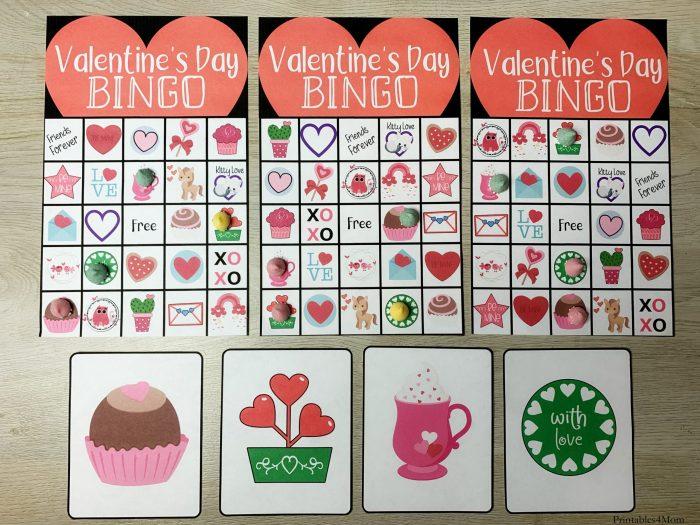 Valentine's Day Printable Bingo Game