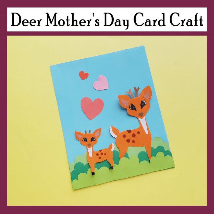 Deer Mother's Day Craft