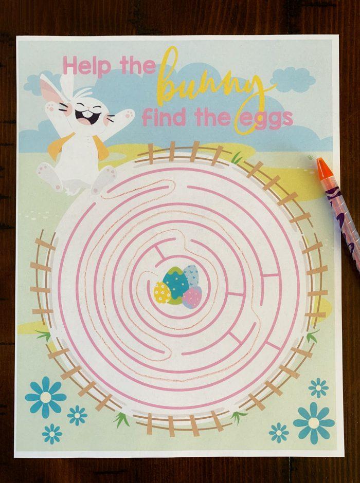 Printable Easter Mazes for Kids | Woo! Jr. Kids Activities | 940x700