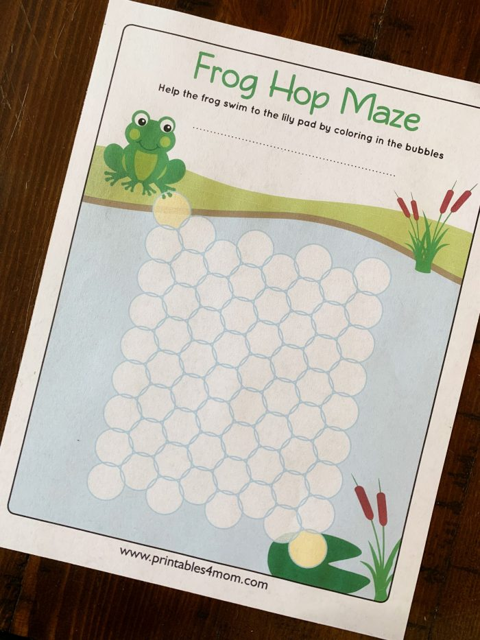 Frog Hop Maze Early Math Games multiplication, ABCs, alphabet, addition, subtraction, division and more