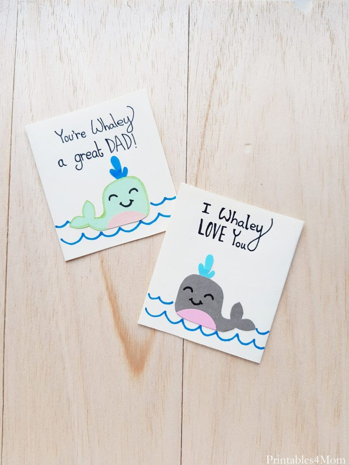 Father's Day Whale Card Craft