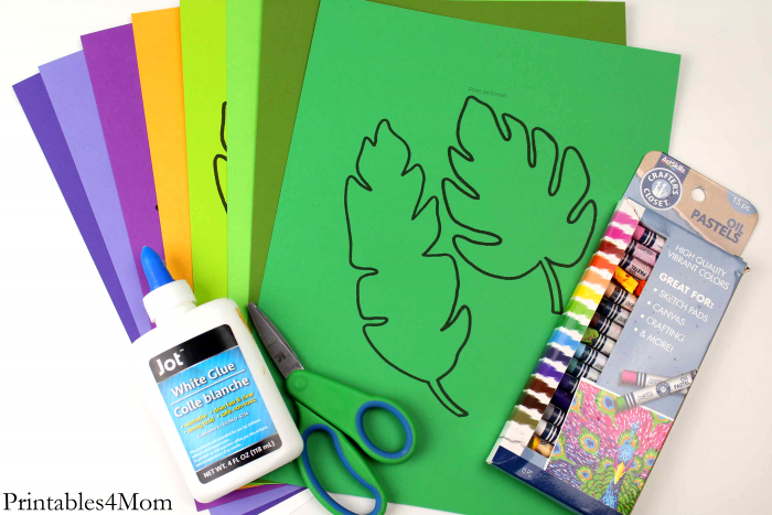 Tropical Flower Crafts And Coloring Pages Printables 4 Mom